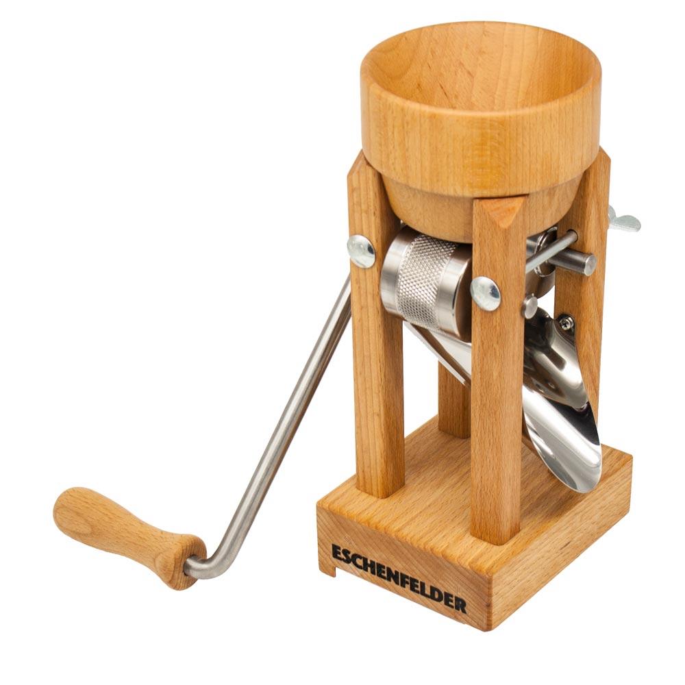 Ganz und zu Extrem Eschenfelder Kornquetsche Tischmodell mit Holztrichter | YouFlake &ST_69