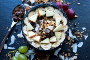 Porridge mit Granola