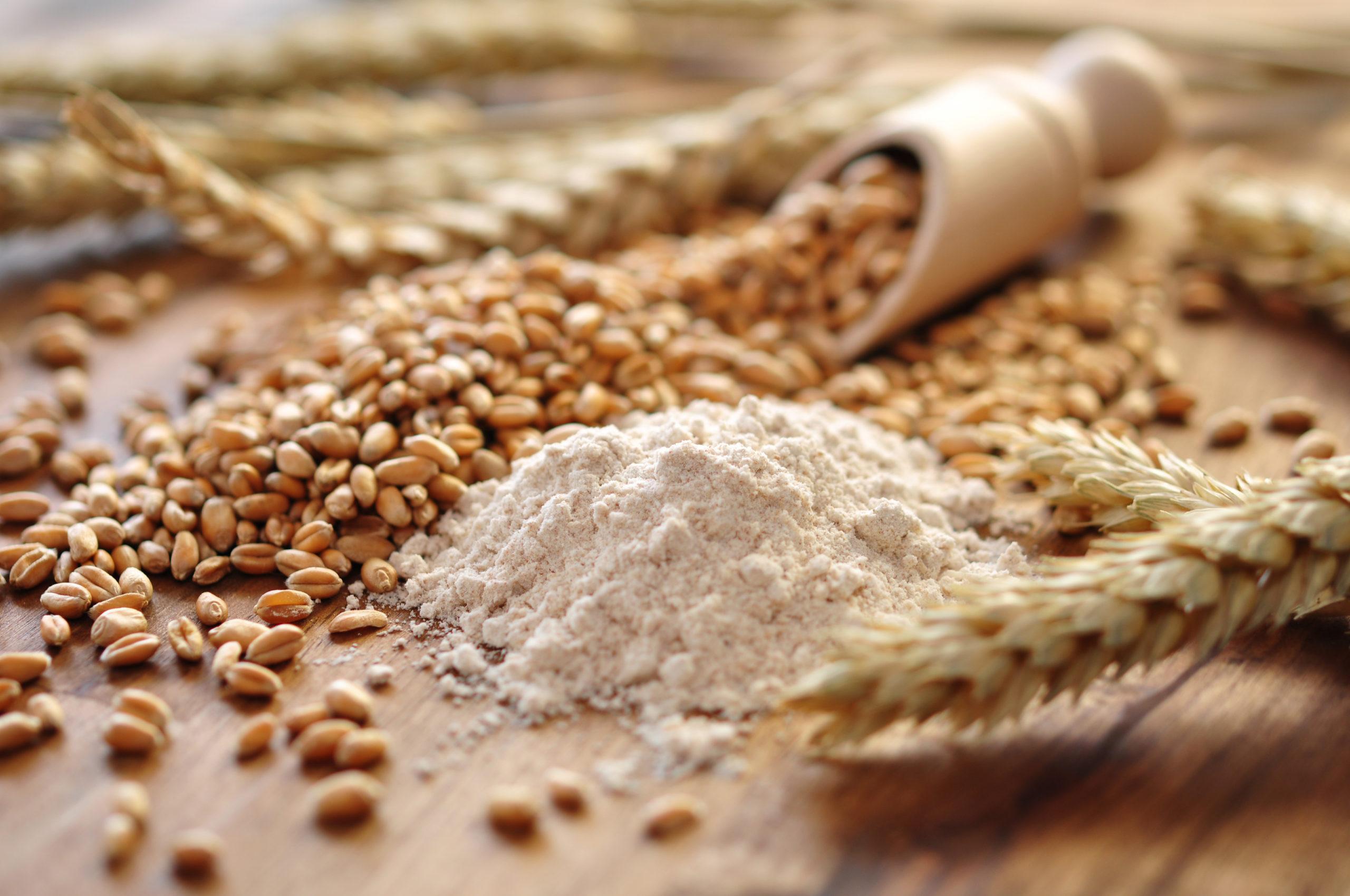 Getreide und Mehl