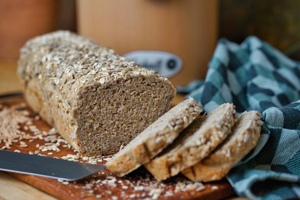 Dinkel-Buchweizen-Toastbrot